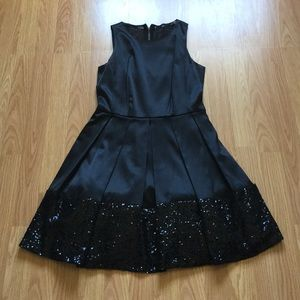 gorgeous sequin and silky dress size 2